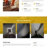 free contractor WordPress theme