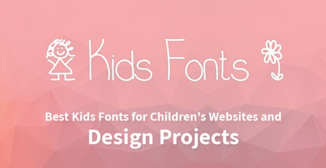 12 Best Kids Fonts for Children's Websites and Design Projects