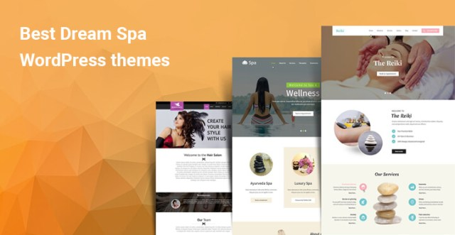 Best Dream Spa WordPress theme