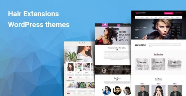 hair extension WordPress themes
