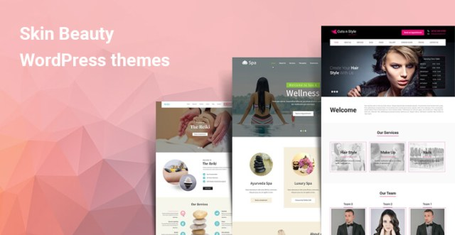 skin beauty WordPress themes