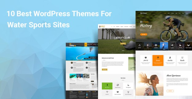 10 Best WordPress Themes For Water Sports Sites