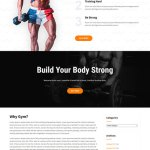 free gym WordPress theme