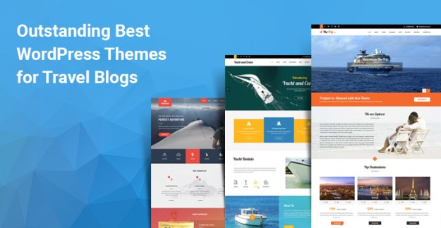 WordPress themes travel blogs