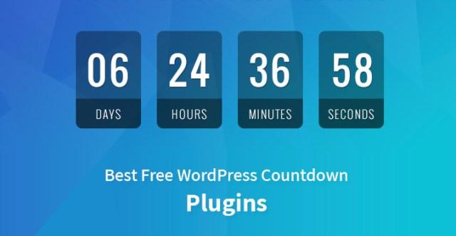 Best Free WordPress Countdown Plugins