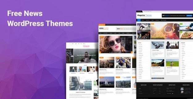 Free News WordPress Themes