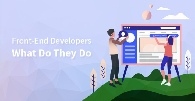 Front End Developers What Do They Do