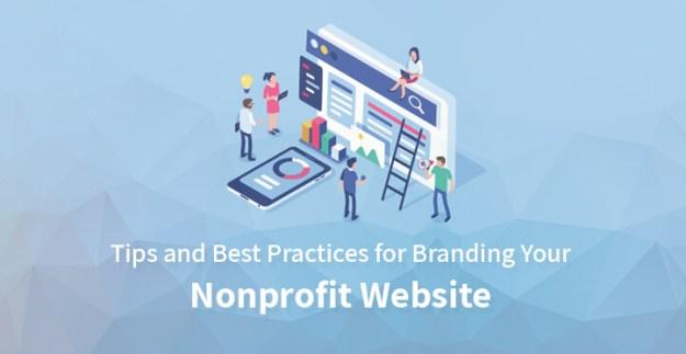 branding your nonprofit website