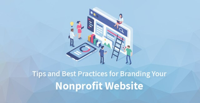 branding your nonprofit website