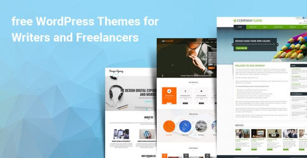 10+ Best free WordPress Themes for Writers and Freelancers