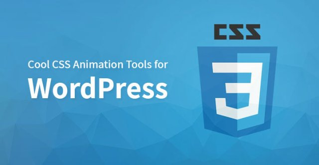CSS Animation Tools for WordPress