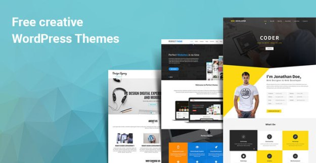 free creative WordPress themes