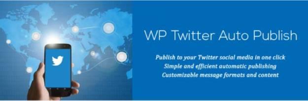 WP Twitter Auto Publish