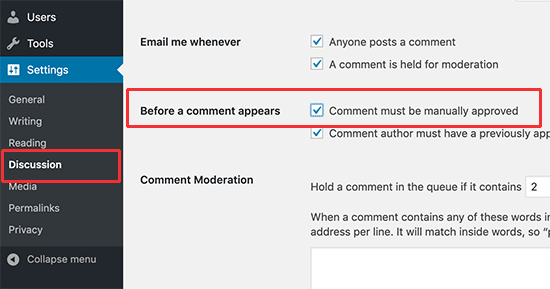 how to combat spam comments