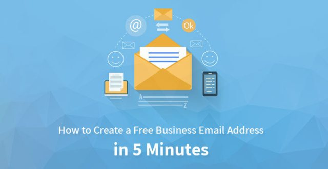 create free business email