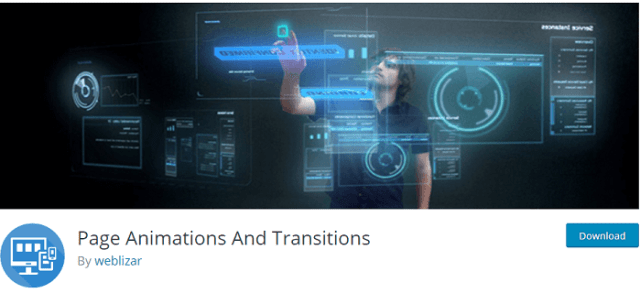 page animations transitions