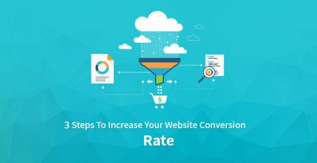 Increase website conversion