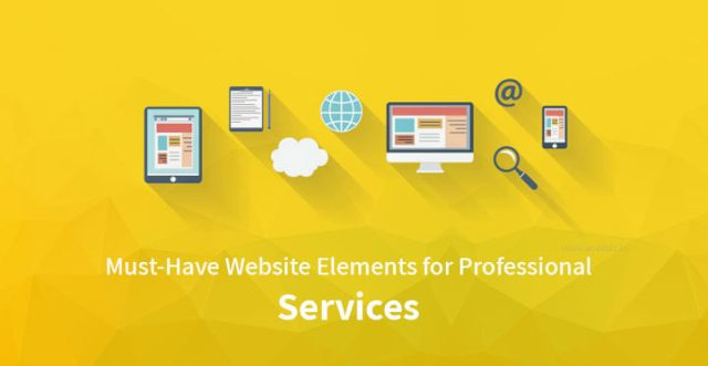 Website Elements for Professional Services