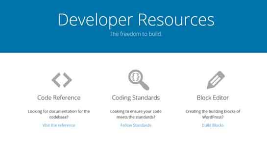 WordPress developer handbook