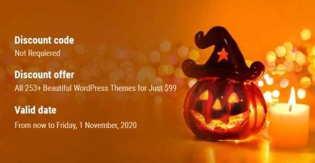 Best Halloween deals on WordPress 2020
