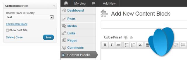 custom post widget