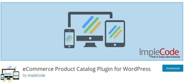 eCommerce Product Catalog Plugin