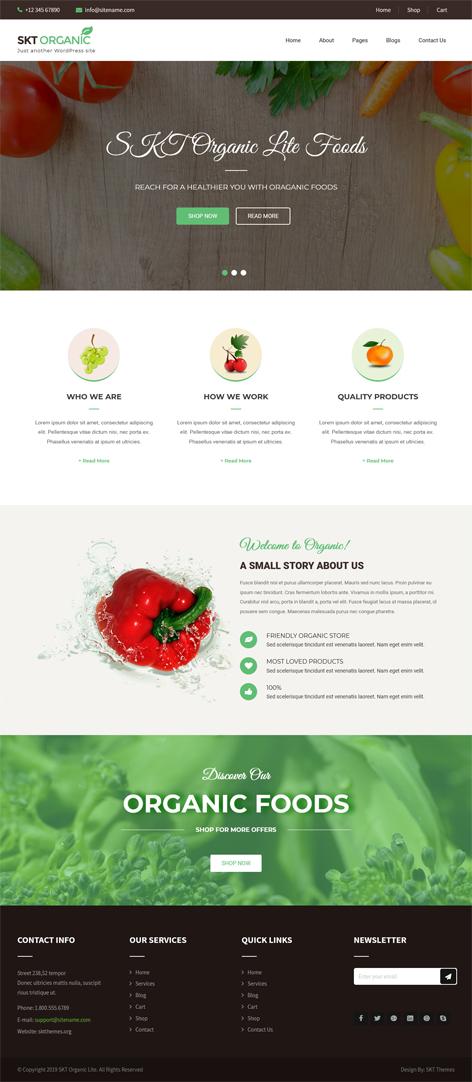 free farming WordPress theme