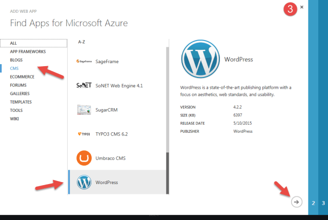 azure wordpress