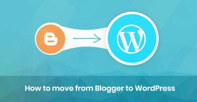 Blogger to WordPress