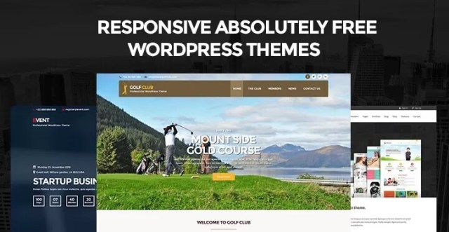 completely free WordPress themes