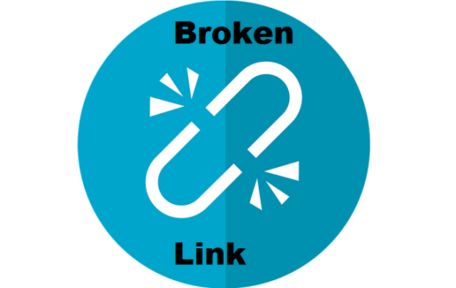 broken links in WordPress