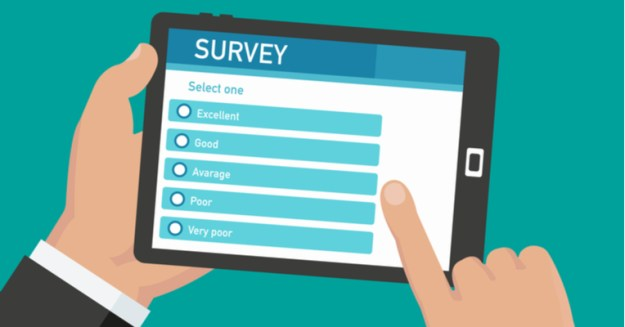 surveys to engage visitors