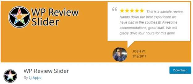 wp review slider