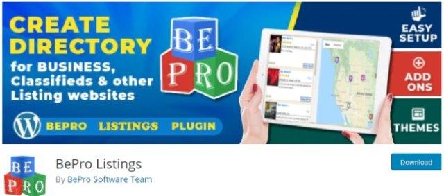Bepro listings