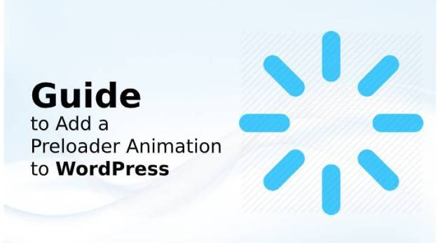 Preloader Animation to WordPress