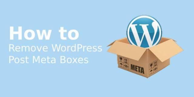 WordPress Post Meta Boxes