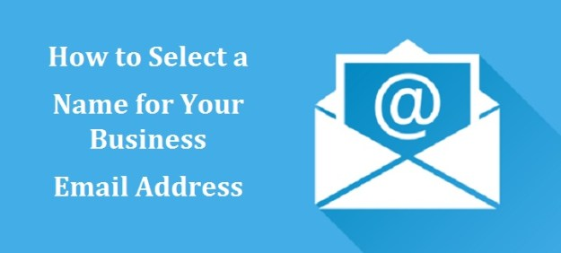 Select a Name for Your Business Email