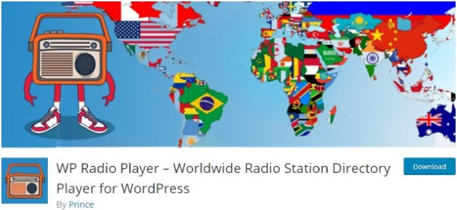 WP Radio Player