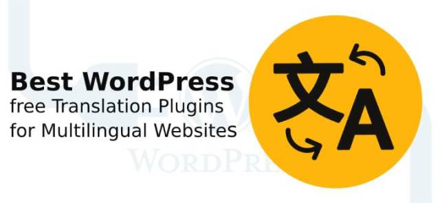 WordPress free translation plugins