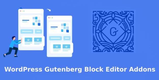 Gutenberg block editor addons