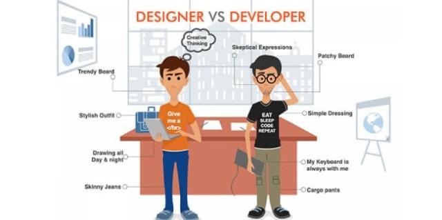 design vs developer