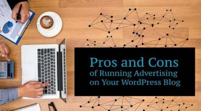running advertising on your blog