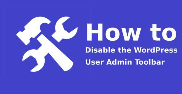 Disable the WordPress User Admin