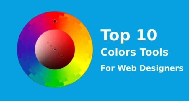 Colors tools for web designers