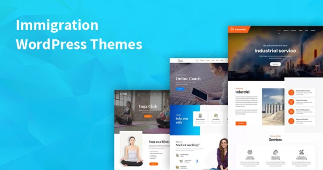 Immigration WordPress Themes