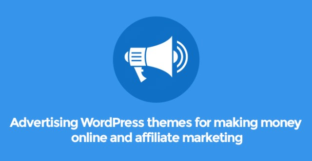 advertising wordpress themes