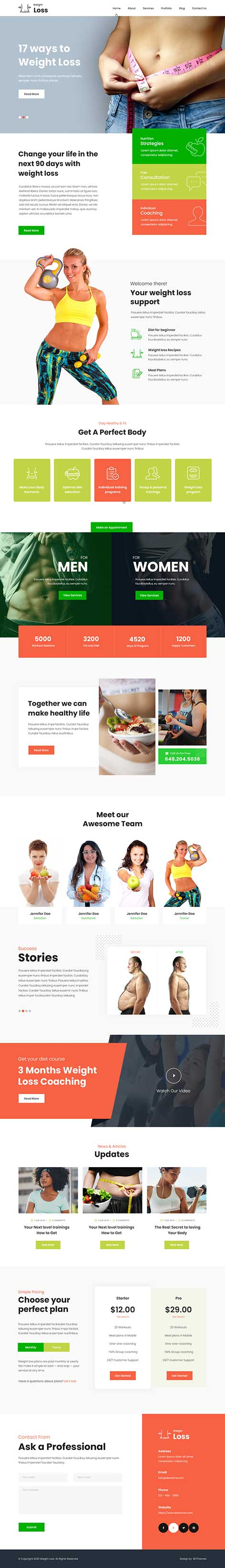 Health WordPress theme