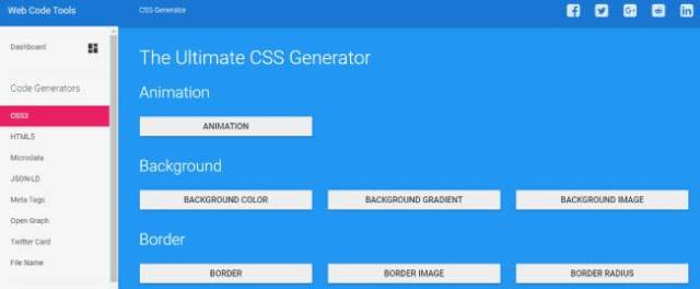 The Ultimate CSS Generator