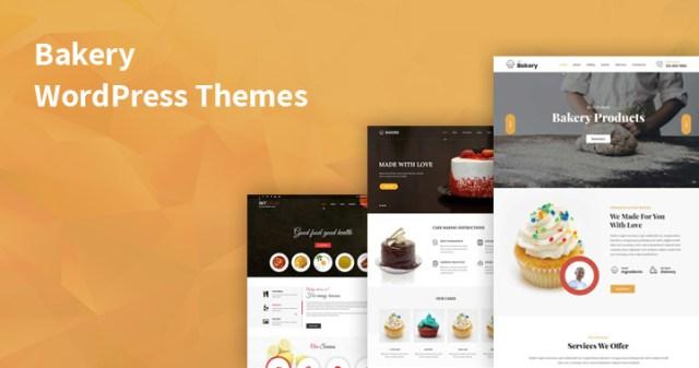bakery WordPress themes