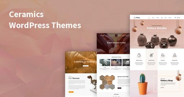 ceramics WordPress themes